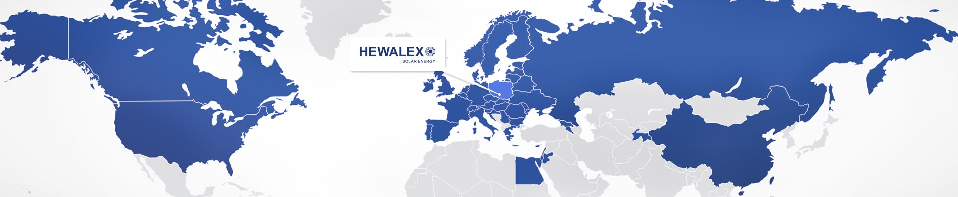 Hewalex export map